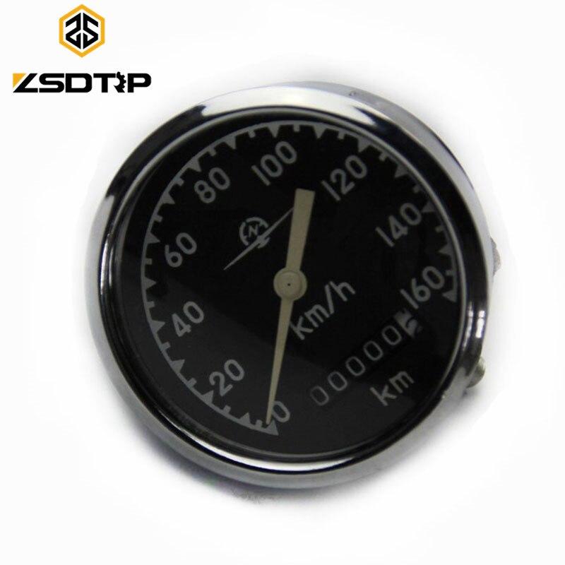 ZSDTRP 0 160 Km h headlight inner speedometer used at KC750 side car motorcycle case for