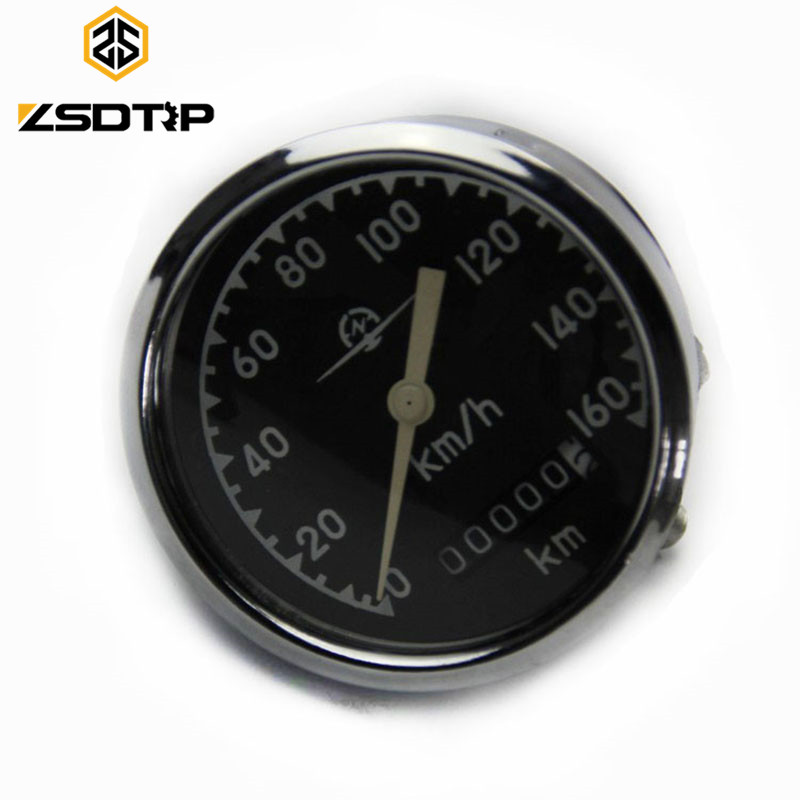 ZSDTRP 0-160 Km/h headlight inner speedometer used at KC750 side car motorcycle case for Bmw R12 R71 M-72 motor