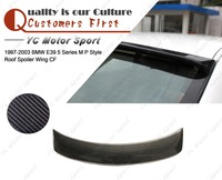 Car Accessories Carbon Fiber MP Style Roof Spoiler Fit For 1997 2003 E39 5 Series Roof Spoiler Wing