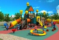 Экспортируется детей открытый игровая площадка из ПВХ Парк детская комната рай объекта вилла крыши играть оборудования YLW OUT171068