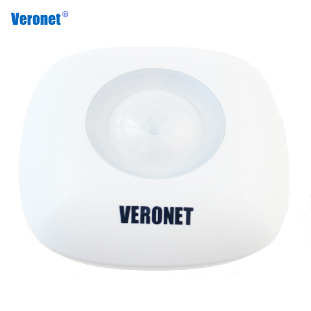 все цены на Veronet Z-Wave Movement Sensor Motion Detector Sensor Alarm Zwave Z wave Wireless PIR Motion Sensor Smart Home Automation онлайн
