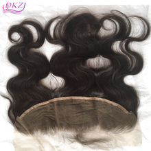 8A 13X4 Brazilian Body Wave Lace Frontal Closure Bleached Knots Virgin Human Hair Full Lace Frontal Piece Baby Hair FreeShipping