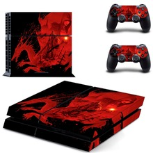 Game Resident Evil PS4 Skin Sticker Decal Vinyl for Sony Playstation 4 Console and 2 Controllers PS4 Skin Sticker
