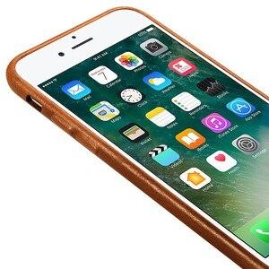 Image 5 - Jisoncase אמיתי עור כיסוי עבור iPhone 7 7 בתוספת מקרה יוקרה חזרה כיסוי Slim נייד טלפון מקרה עבור iPhone 8 8 בתוספת אנטי לדפוק
