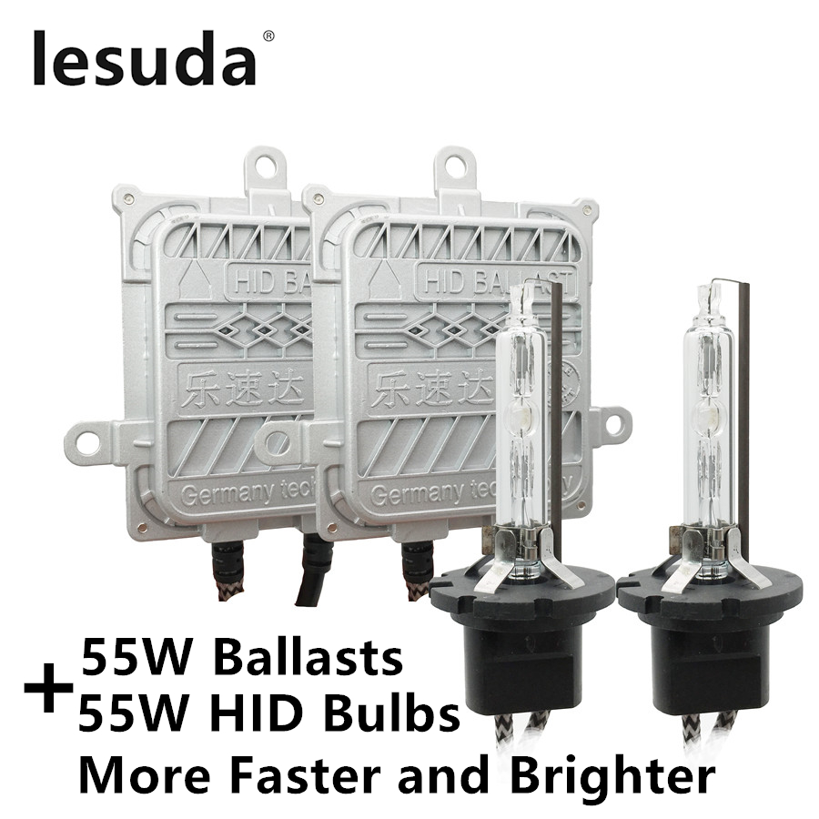 55 W H1 H3 H4 H7 H11 H8 H9 9005 9006 HB3 HB4 9012 D2H HIR2 AC CACHÉ Xénon Kit de Conversion D'ampoule de Voiture Auto Phare Antibrouillard