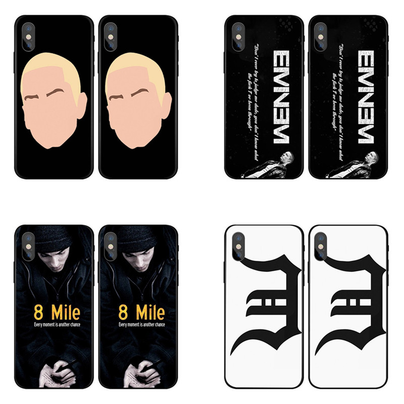 Eminem Phone Case For Iphone 5 5s 6 6s 7 8 Plus X 6plus ...