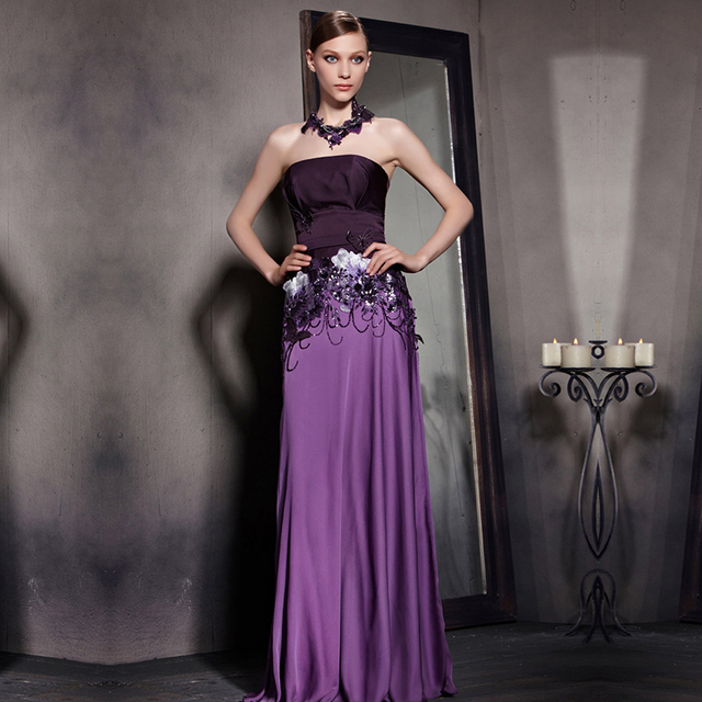 REAL PHOTO Designer Elegant Women Evening Dress Coniefox 81831 A ...