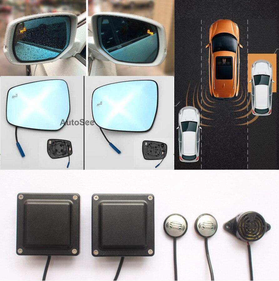 Auto Pick-up Bsd Bsm Blind Spot Sistema Di Rilevamento Radar A Microonde Del Sensore Di Assistenza Al Cambio Di Corsia Di Guida Specchio Di Monitoraggio Di Allarme Con Una Reputazione Da Lungo Tempo