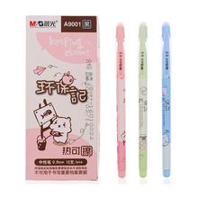 12pcs/box M&G The student hot erasable pen 0.5mm office special