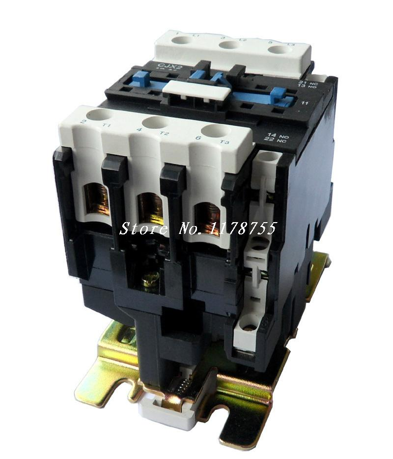 AC Contactor Motor Starter Relay (LC1) CJX2-6511 NO+NC 220/230V Coil 65A 18.5KW ac contactor sc n5px