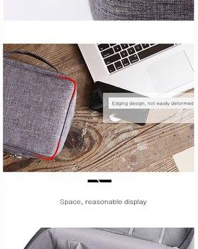 Travel accessories cable bag porta