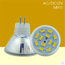 1-10 Uds., nuevo foco Led de alta potencia MR11 GU4 5730SMD 6w 9w 12w regulable Led Cob foco blanco cálido fresco MR 11 12V bombilla(China)