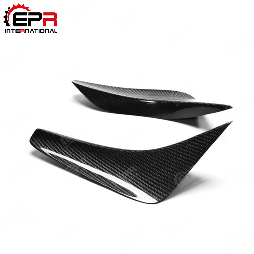 Car-styling For Nissan R35 GTR OEM Carbon Fiber Front Bumper Canard (OEM Bumper Only) Glossy Finish Splitter Tuning AccessoriesCar-styling For Nissan R35 GTR OEM Carbon Fiber Front Bumper Canard (OEM Bumper Only) Glossy Finish Splitter Tuning Accessories