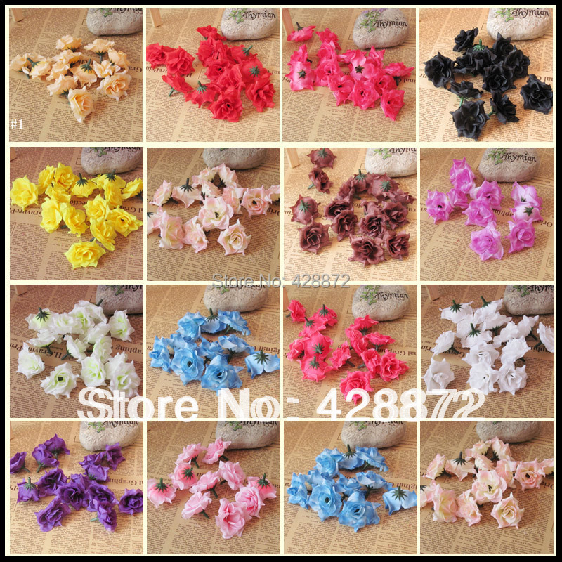 Free Shipping Artificial Rose Wedding Decorations Flowers Multicolor For