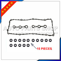 car accessories Valve Cover Gasket Set+15 Grommets for BMW E34 E36 M50 320i 325i 325is 520i 525i 11129070530