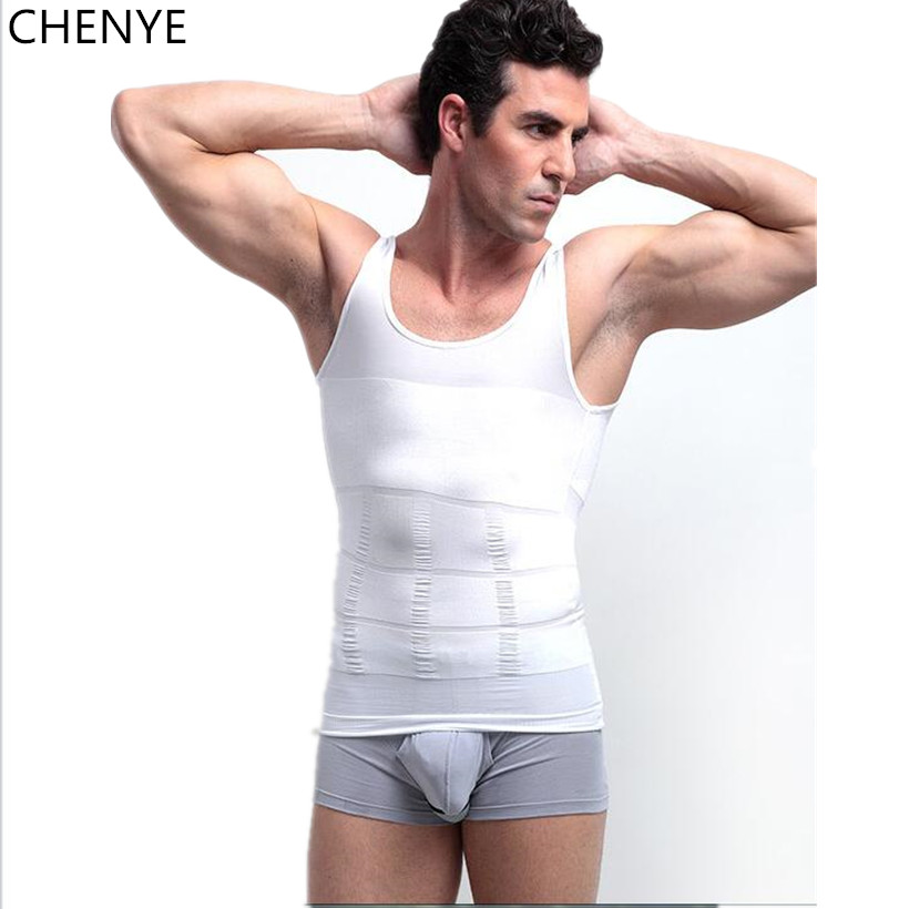 hot male body shaper vest shapewear slimming waist and tummy control shaper belt underwear men fitness breathable corset tops in shapers from mens