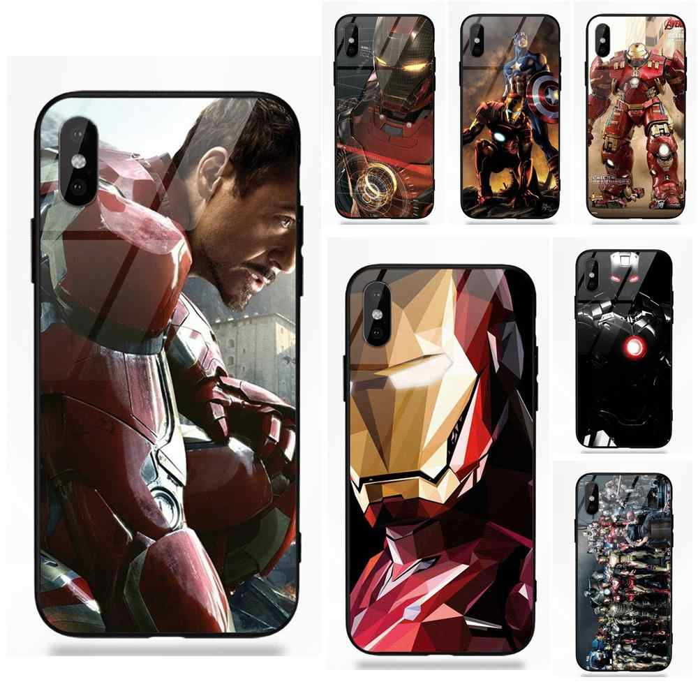 Marvel Super Hero Iron Man America For Redmi 5 Note 5A 6 For Galaxy S8 S9 Plus Huawei Honor 7X P20 Lite Mate 10 Pro