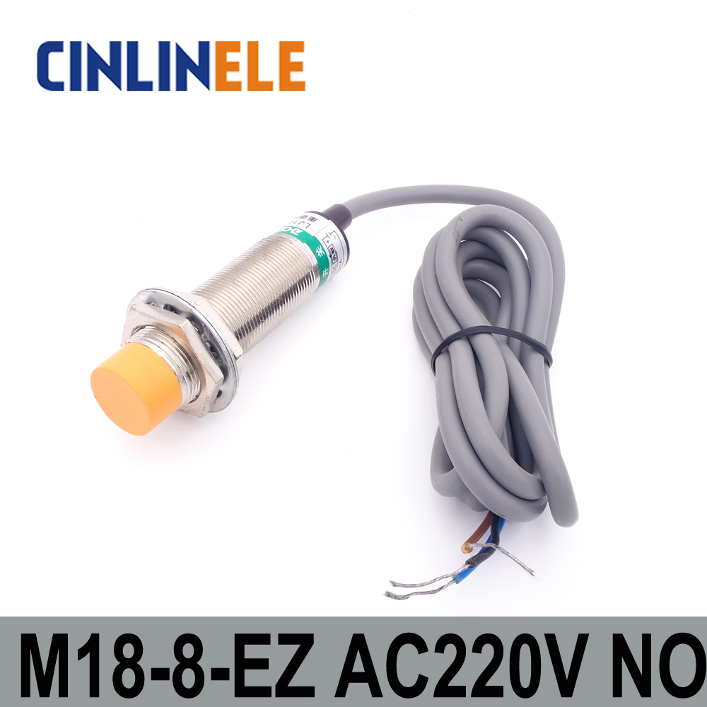 M18 LJ18A3 8 Z/EZ 8mm induktion AC 2 DRAHT KEIN metall sensor ...