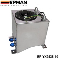 EPMAN 10L Aluminium ausgleichsbehälter spiegelpolitur brennstoffzellen schaum nach innen, mit sensor EP-YX9438-10
