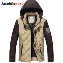 Männer parka jacke 3 farb upgrade edition 2017 winter männer parka jacke beiläufige dünne warme padded jacke chaquetas marke clothing