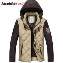 Men Parka Jacket 3 Color Upgrade Edition 2017 Autumn Winter Men Jacket Coat Casual Warm Padded Jacket Chaquetas Brand Clothing