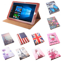 Luxury Painted Stand Cover Flower Printing Pattern PU Protective Leather Case Cover For CHUWI Hi12 12