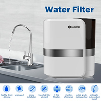 AUGIENB 2.5L/min 0.01m 7 stage Water Filters Purification Machine Ceramic Percolator Rust Bacteria Removal for Kitchen