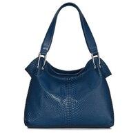 AOVO New Designer Brand Women S Genuine Leather Handbag Embossed Leather First Layer Cowskin Women S
