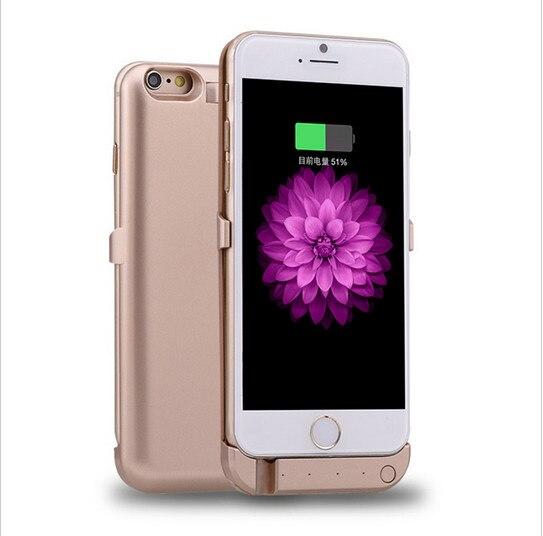 imágenes para Nuevo para el iphone 6 6s externa caso de la energía 10000 mah powerbanks paquete de cargador de batería de copia de seguridad caja de batería extendida para el iphone 6 6 S
