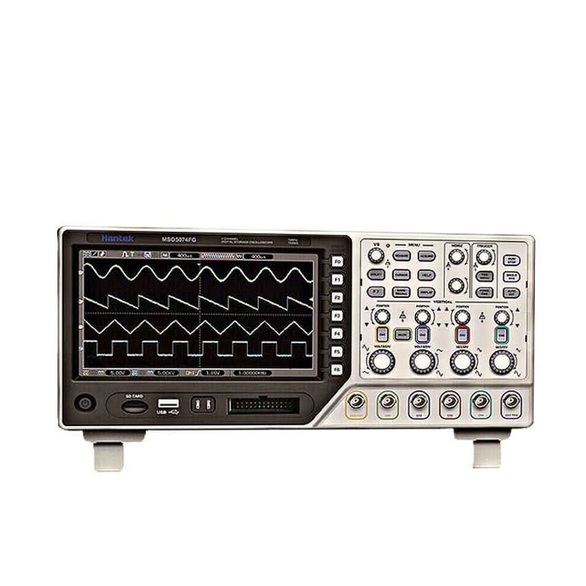 MSO5074FG 4CH 70MHz Oscilloscope 8CH Logic Analyzer 25MHz Waveform Generator