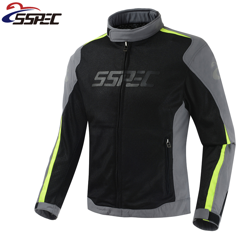 New arrival Motorcycle Jacket Summer motorbike men racing jacket chaqueta breathable motocross jackets with 5 protection pads