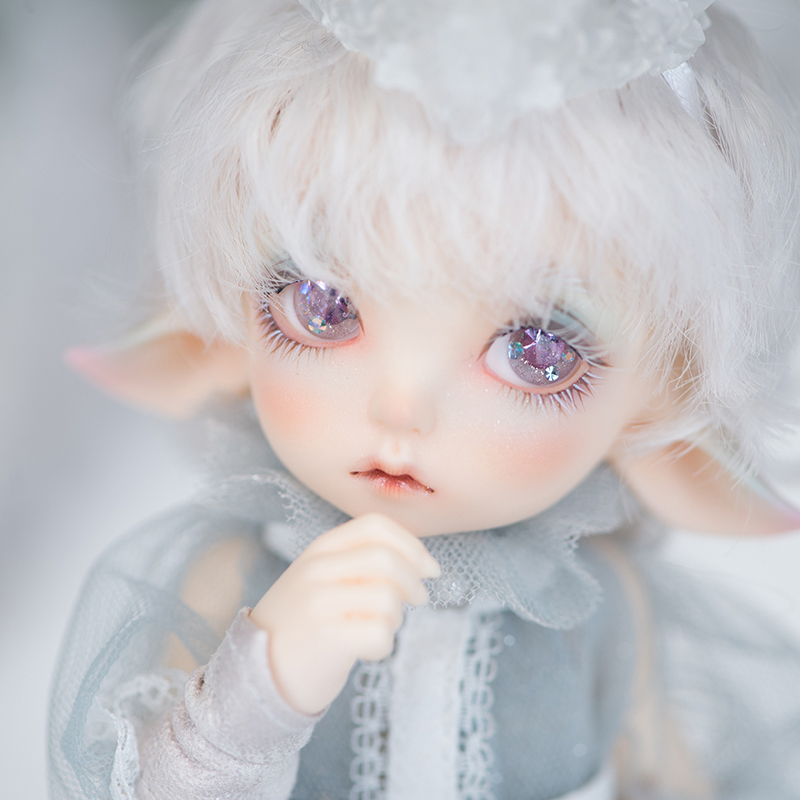 New Arrival 1/7 BJD Doll BJD/SD Fashion Cute Luna Resin Joint Doll With Make Up For Baby Girl Brithday Gift new arrival 1 4 bjd doll bjd sd fashion cute fish mermaid resin doll for baby girl birthday gift