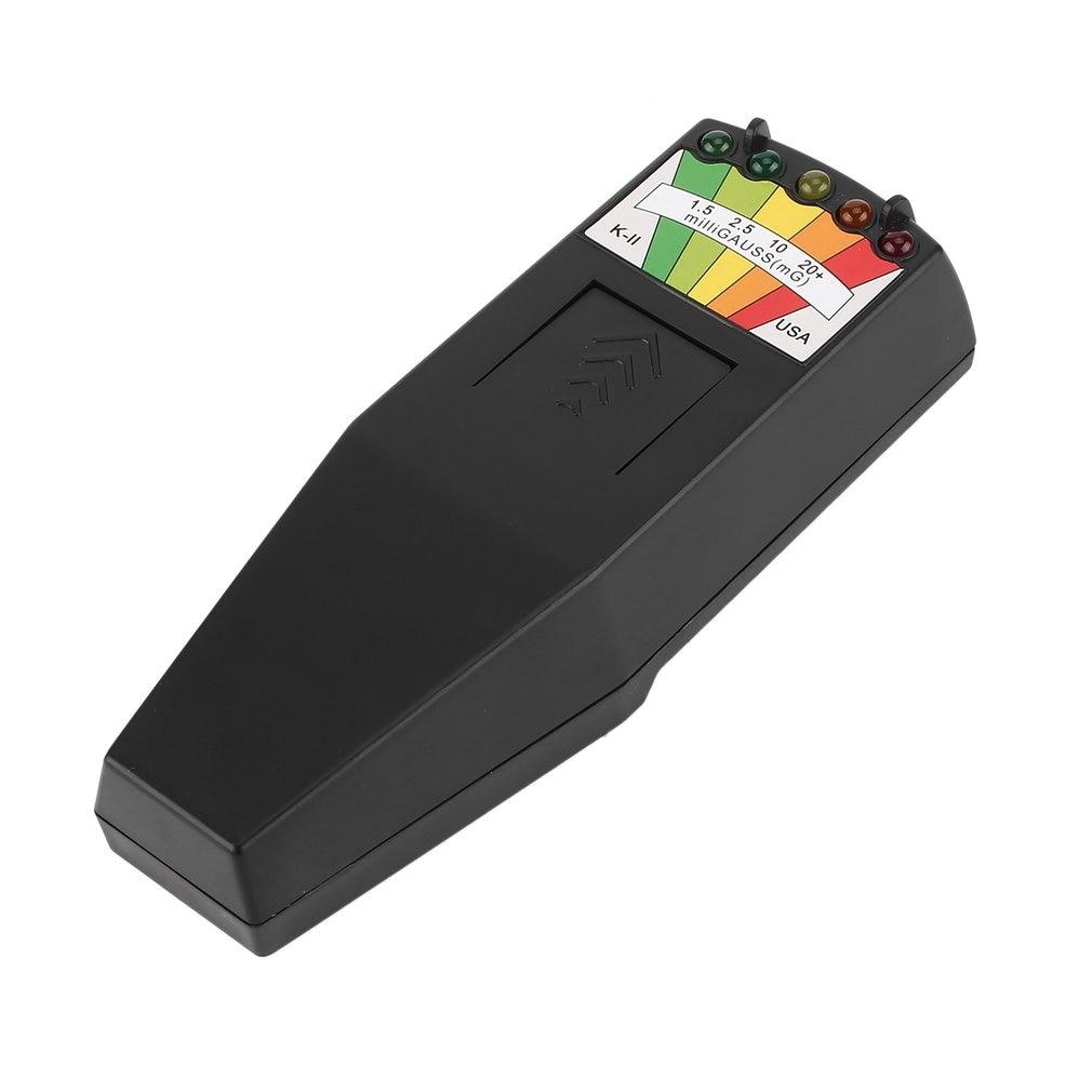 EMF Meter Electromagnetic Radiation Detector Handheld Digital LCD Dosimeter Tester for Research Harmful Exposure Measure New tes 1333 solar power meter digital radiation detector solar cell energy tester