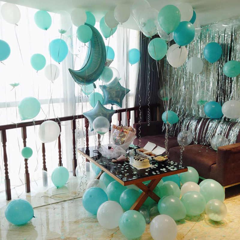 Biały czarny balon 10 sztuk/partia grube 2.2g lateksowe balony dekoracje ślubne dmuchana piłka dla dzieci Birthday Party Supplies
