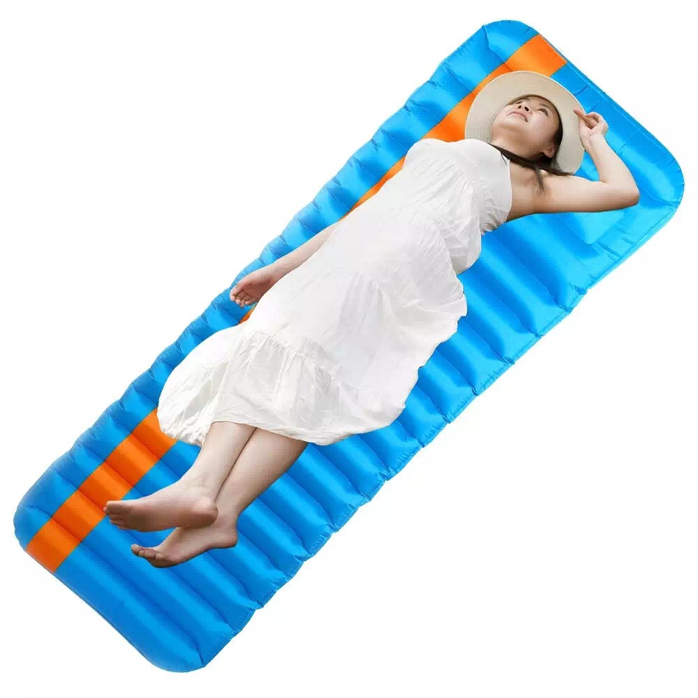 Inflatable Bed  Air Mattress Moistureproof Inflatable Air Mat With PVC Camping Bed Tent Camping Mat Sleeping Pad 5 5m inflatable twister funny games 0 5mm pvc inflatable twister mattress with free air blower