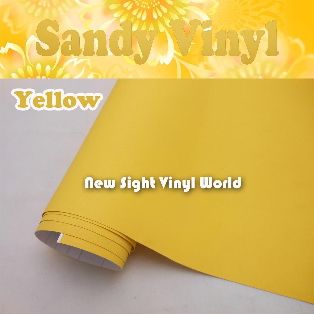 ᗐAlta calidad de arena vinilo amarillo Películas rollo burbuja de ...