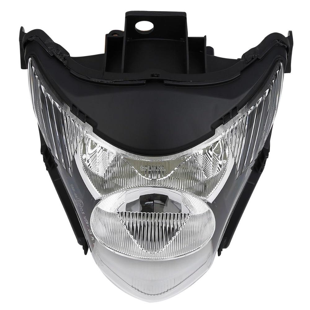 Black Motocycle Headlight Head light Lamp Assembly For Honda Hornet CB600F 2007-2010 2008 2009