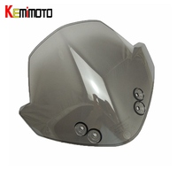 KEMiMOTO For KTM 125 200 390 for KTM Duke RC390 RC125 RC200 Wind Screen Smoked Motorcycle Windscreen Windshields Headlight Cover