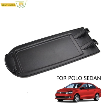 Car Armrest Latch Lid Center Console Cover Cap For Volkswagen VW Polo Sedan 2010 #8211 2018 2011 2012 2013 2014 Replacement Part tanie i dobre opinie XUKEY CN (pochodzenie) 2010 2011 2012 2013 2014 2015 2016 2017 2018 1inch Artificial leather (PU leather) padding with ABS plastic base
