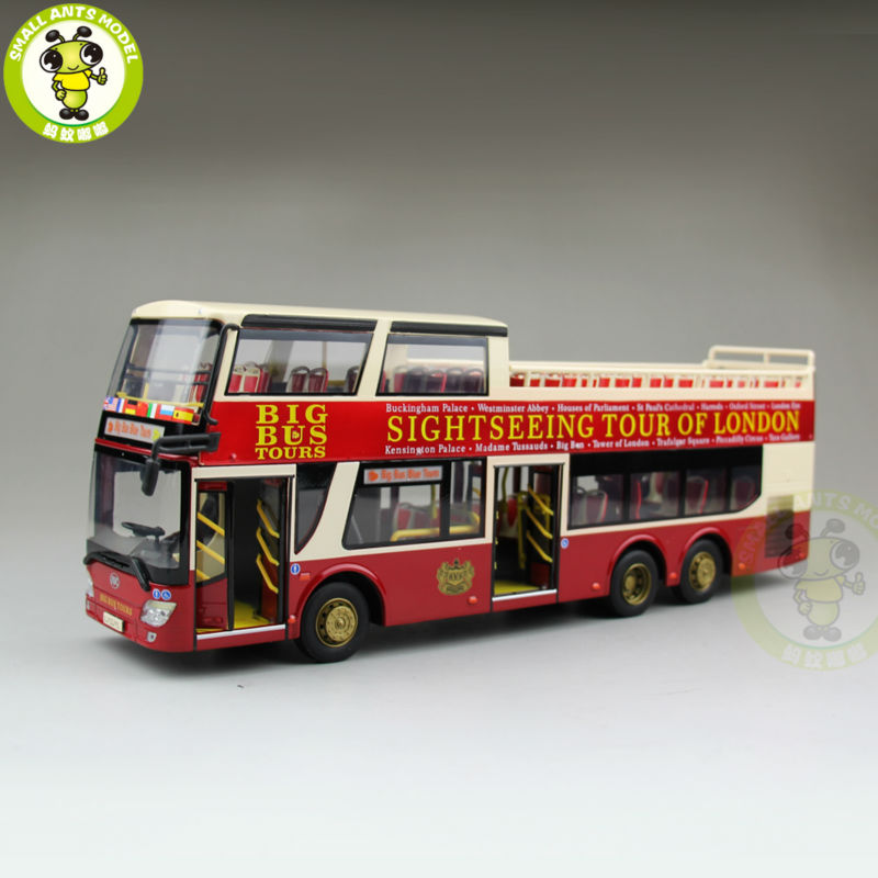 1/43 Ankai Bus Sightseeing Tour Of London BIGBUS BIG BUS Diecast Model Bus Close Top 1 43 ankai bus sightseeing tour of london bigbus big bus diecast model bus open top