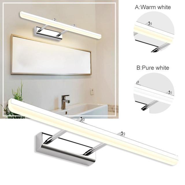 40 CM 9 W Simple moderne phare évolutif LED miroir lumière salle de bains toilettes lampe murale livraison directe 6.14