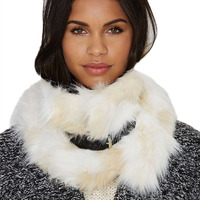 Elegant New Winter Lady Scarfs Warm Faux Fur Ring Neck Cashmere Scarf Faux Leather Belt Decorated Multi Styles Scarf LM93
