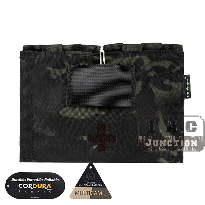 Emerson LBX Tactical Style LBT-9022B-T Modular MOLLE Belt Medic Kit Pouch EmersonGear LBT 9022B T Emergency Blow Out Bag