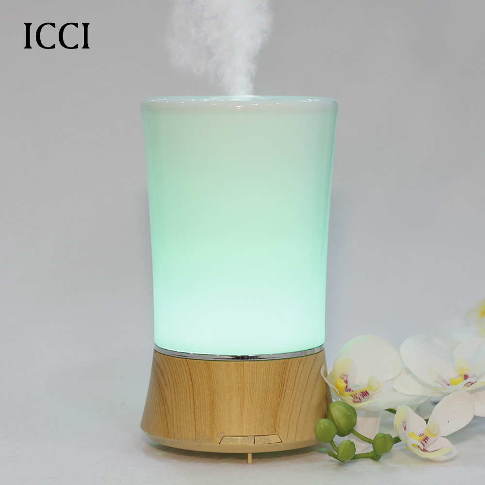 ФОТО Humidifier Essential Oil Diffuser Mist Maker Nebulizer Aroma Diffuser Air Humidifier  Diffuseur huile essential