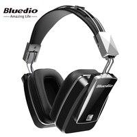 Bluedio F800 Actieve Ruisonderdrukking Draadloze Bluetooth hoofdtelefoon Junior ANC Editie rond de oor headset (zwart)