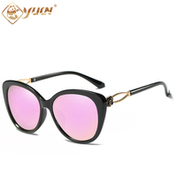 YUW S High Quality Ladies Sunglasses Polarized Shades Luxury Brand Designer Fashion Drving Sun Glasses For