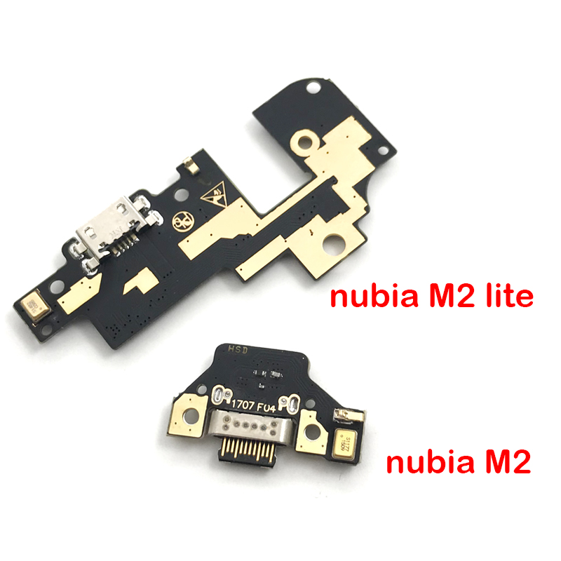 New Dock Connector Charger Plug Board USB Charging Port Flex Cable For ZTE Nubia M2 NX551J / M2 Lite NX573j(China)