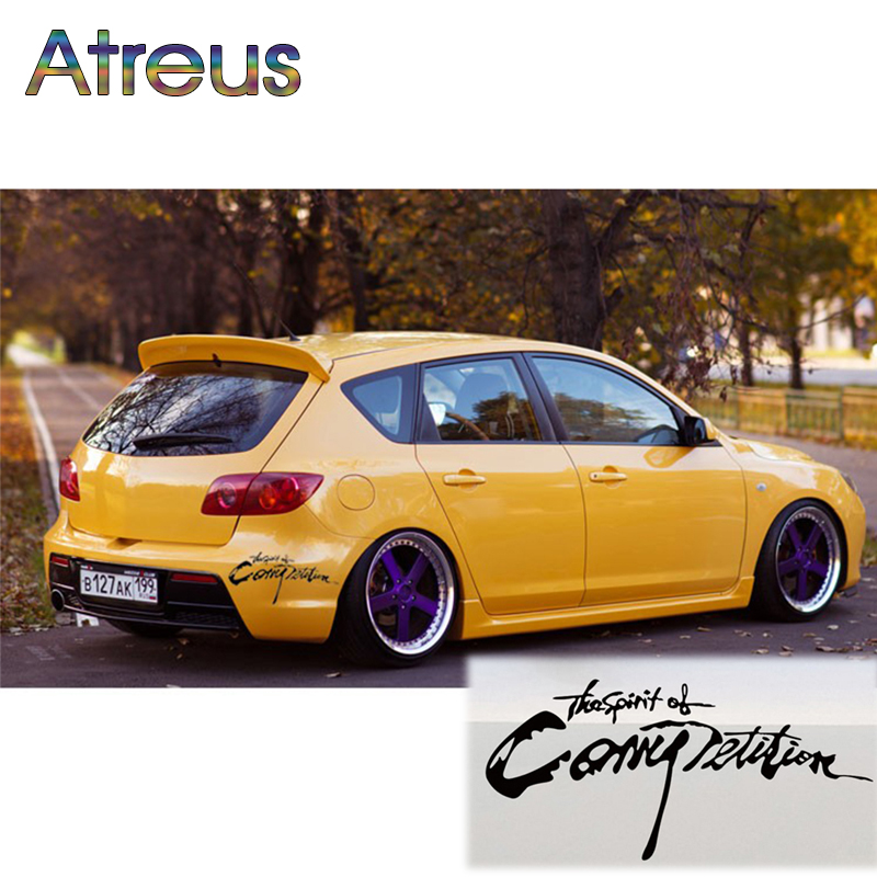 Atreus Cool Car Stickers Car-styling For Renault Chevrolet cruze Opel astra h Nissan Juke Mercedes W203 BMW E39 E36 Volvo XC60