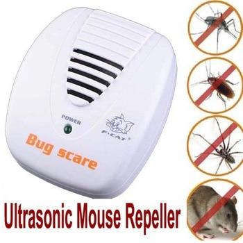 Controle de pragas anti dispositivo Armadilha controle de pragas repeller Eletrônico Ultrasonic pest rejeitar Rato Rato Repelente de pragas de roedores Repeller