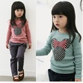 Carácter Chicas Camisetas Niños blusas Suéter de Tocar Fondo Camisetas de los niños ropa de bebé minnie
